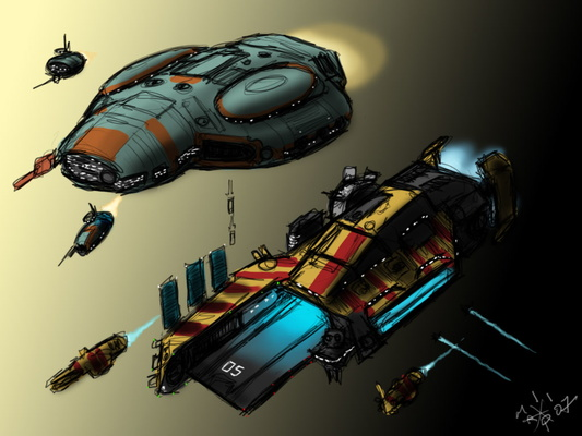 The Redesign Homeworld Ships thread