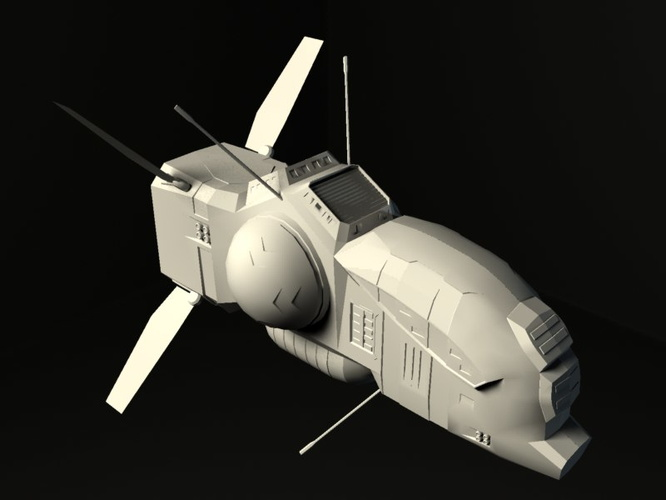 Taiidani Defense Field Corvette model by Ammon Ra