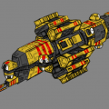 Taiidani Heavy Cruiser by Norsehound