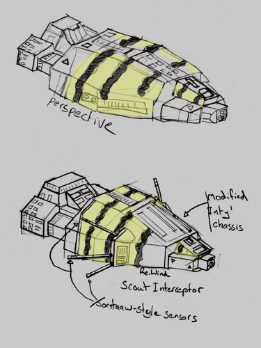 Turanic Strikecraft by Ammon Ra