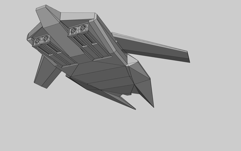 Haiigaran Interceptor Model 2 by Ghostwind1