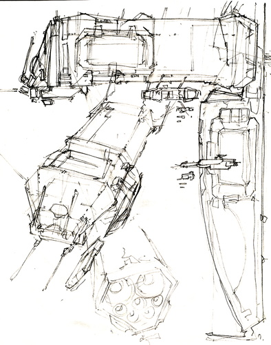 RC mothership roughs