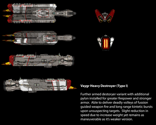 Vaygr Heavy Destroyer (Type I)