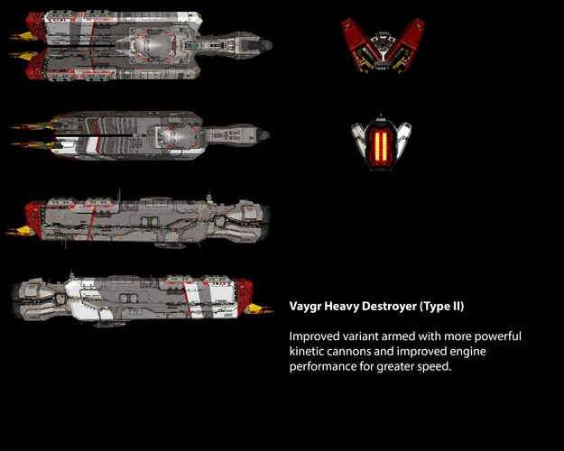Vaygr Heavy Destroyer (Type II)