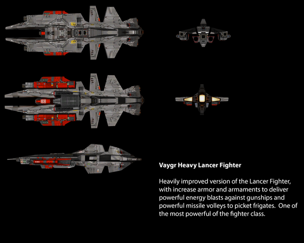 Vaygr Heavy Lancer Fighter