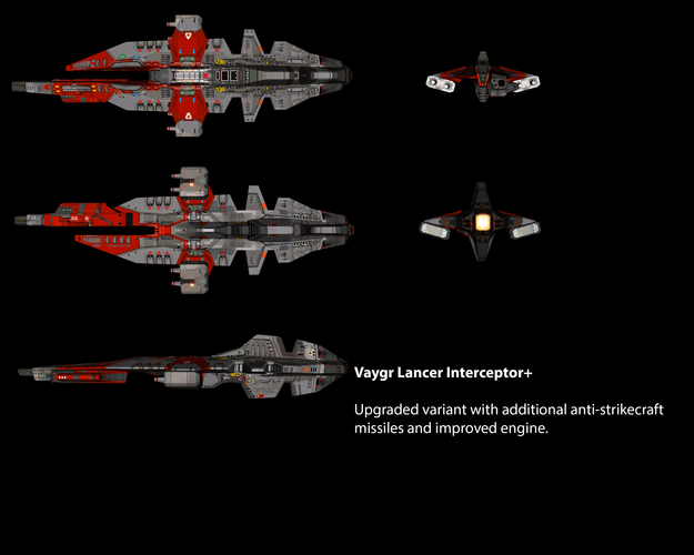 Vaygr Lancer Interceptor+