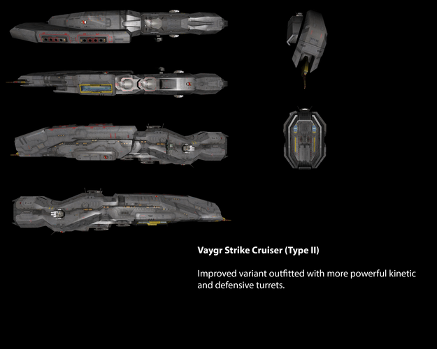 Vaygr Strike Cruiser (Type II)