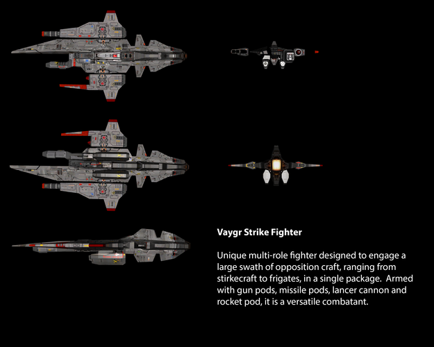 Vaygr Strike Fighter