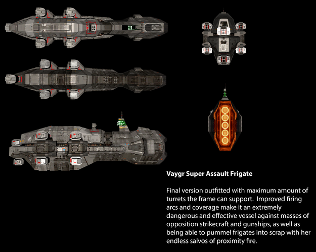 Vaygr Super Assault Frigate