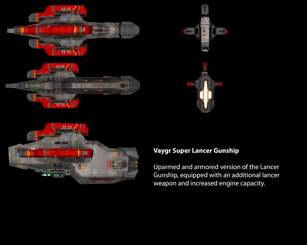 Vaygr Super Lancer Gunship