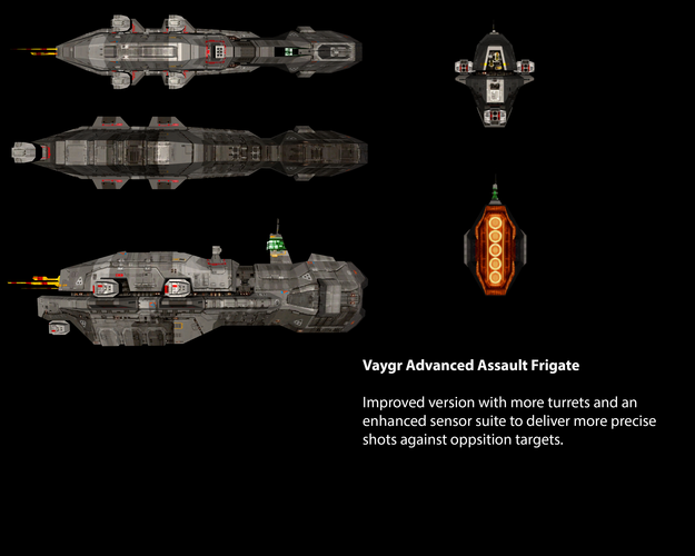 Vaygr Advanced Assault Frigate