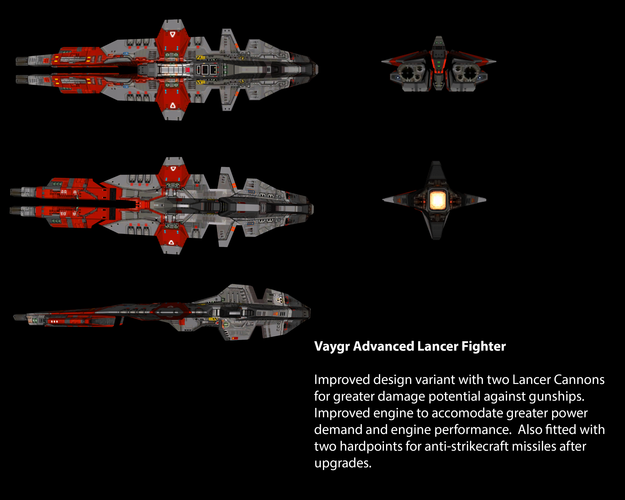 Vaygr Advanced Lancer Fighter