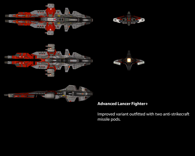 Vaygr Advanced Lancer Fighter+
