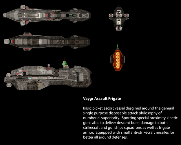 Vaygr Assault Frigate