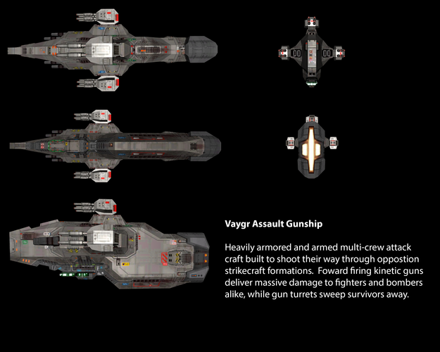 Vaygr Assault Gunship