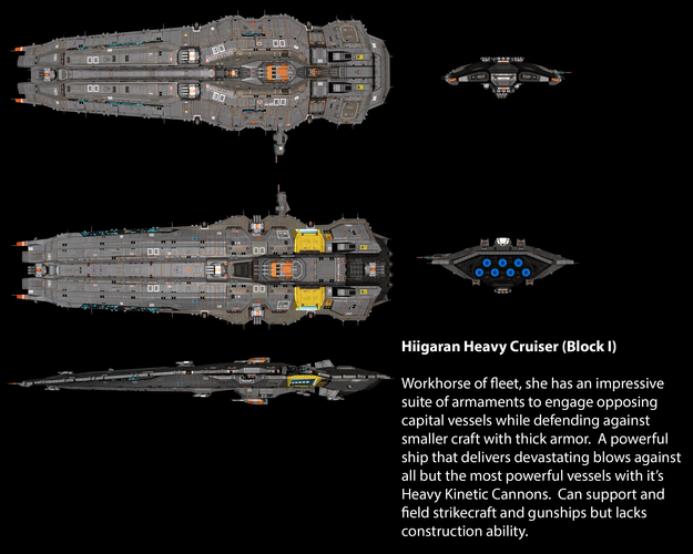 Hiigaran Heavy Cruiser (Block I)