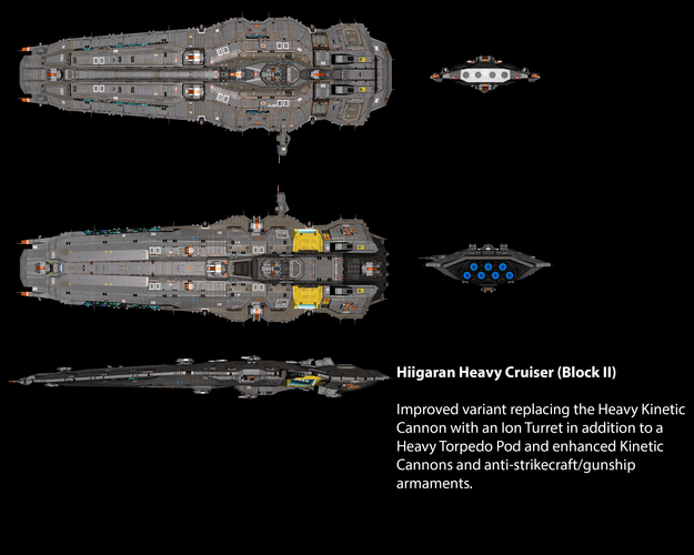 Hiigaran Heavy Cruiser (Block II)