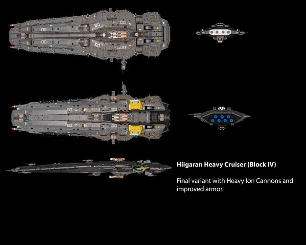 Hiigaran Heavy Cruiser (Block IV)
