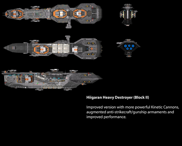 Hiigaran Heavy Destroyer (Block II)