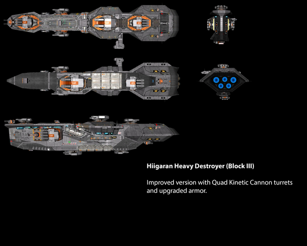 Hiigaran Heavy Destroyer (Block III)