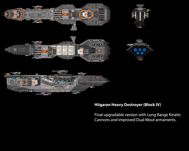 Hiigaran Heavy Destroyer (Block IV)
