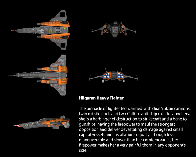 Hiigaran Heavy Fighter