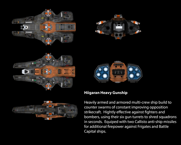 Hiigaran Heavy Gunship