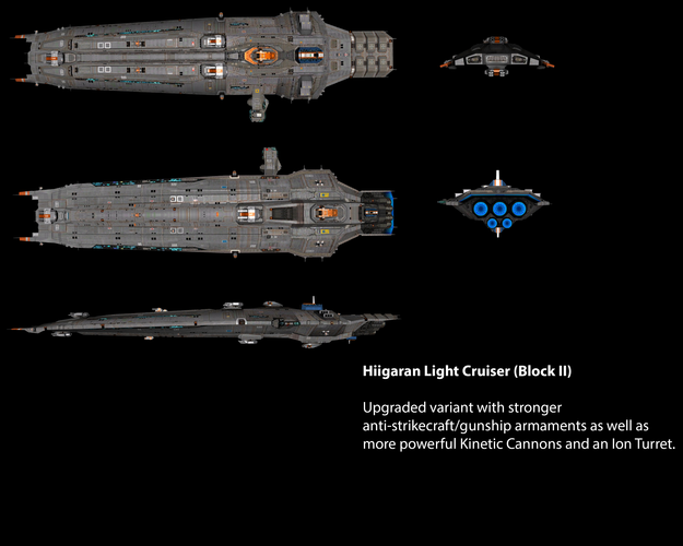 Hiigaran Light Cruiser (Block II)