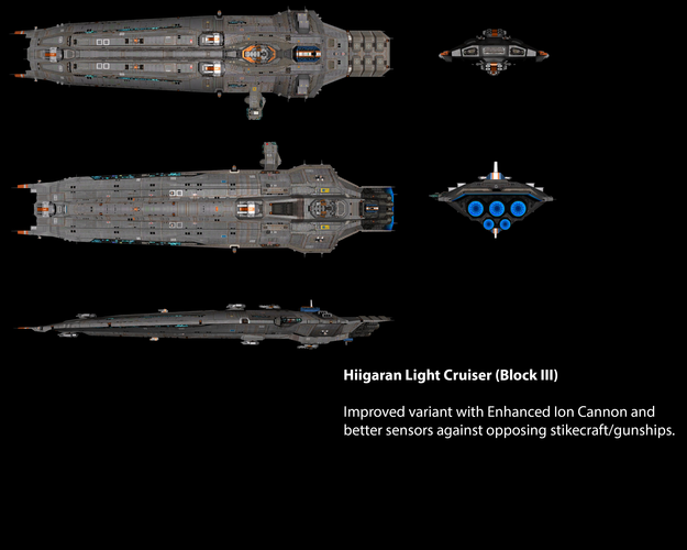 Hiigaran Light Cruiser (Block III)