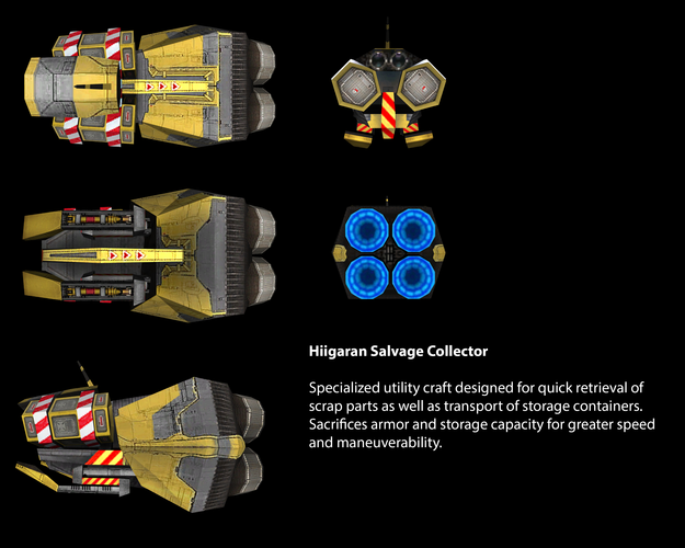 Hiigaran Salvage Collector