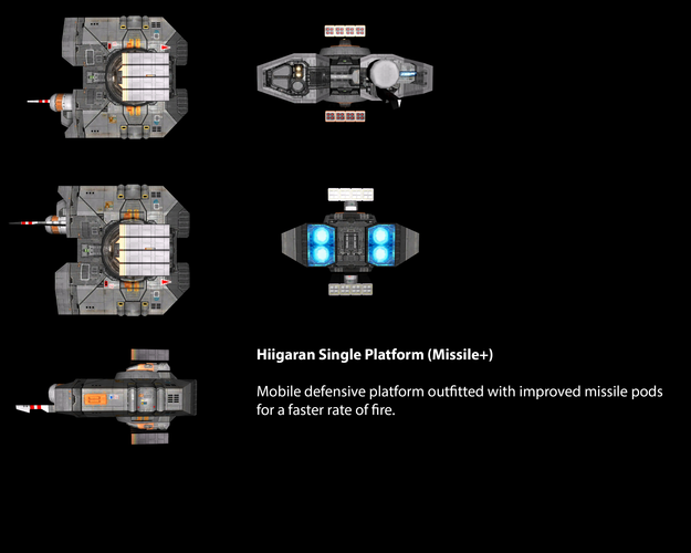 Hiigaran Single Platform (Missile+)