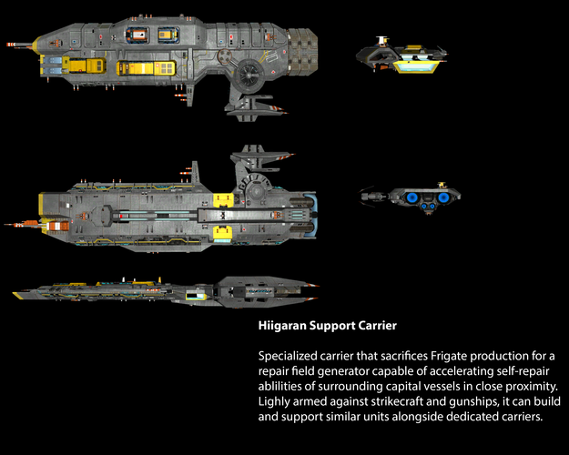 Hiigaran Support Carrier