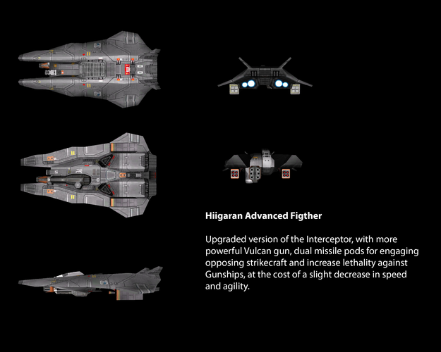 Hiigaran Advanced Fighter