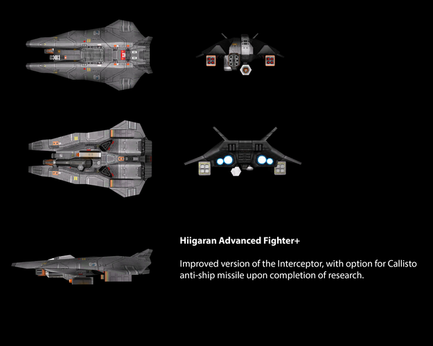 Hiigaran Advanced Fighter+
