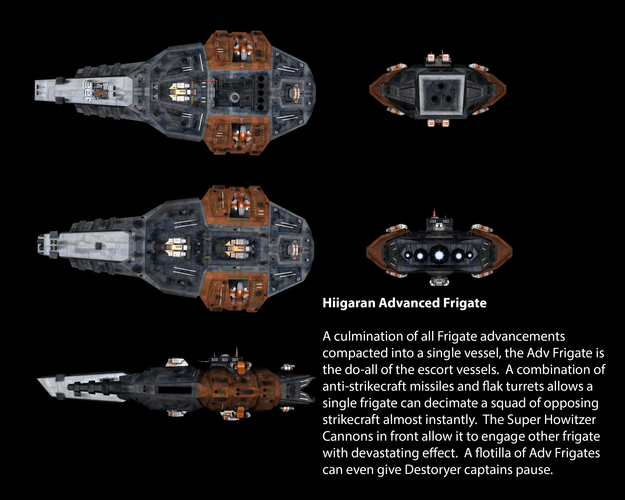 Hiigaran Advanced Frigate