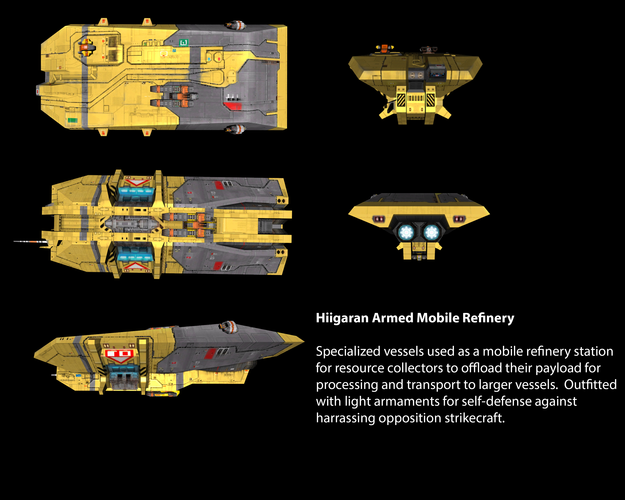 Hiigaran Armed Mobile Refinery