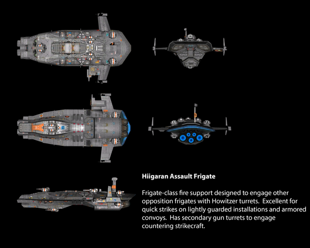 Hiigaran Assault Frigate