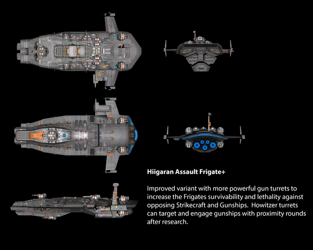 Hiigaran Assault Frigate+