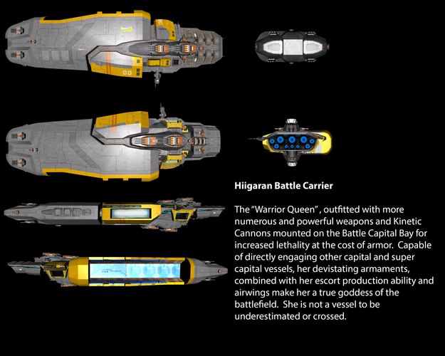 Hiigaran Battle Carrier