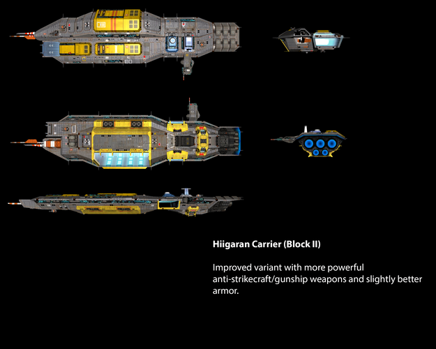 Hiigaran Carrier (Block II)