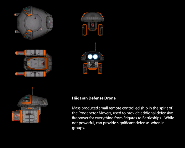 Hiigaran Defense Drone