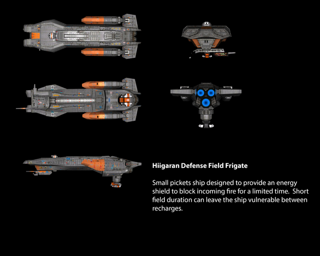 Hiigaran Defense Field Frigate