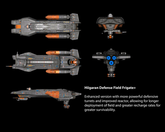 Hiigaran Defense Field Frigate+