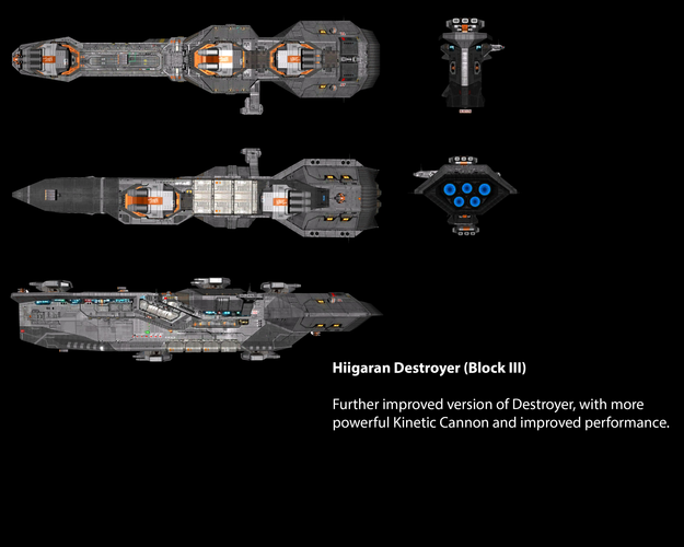 Hiigaran Destroyer (Block III)