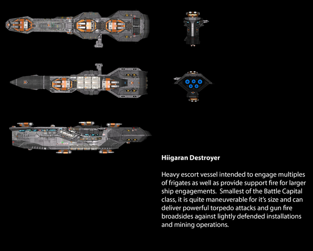 Hiigaran Destroyer